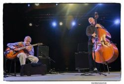 Jim Hall & Scott Colley (foto: Bruno Bollaert)