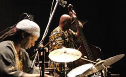 Hamid Drake en William Parker