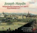 Cover Harpsichord Concertos in F and G, Divertimento in F
