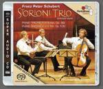 Cover Piano Trio No.1 in B flat, Op. 99 – Piano Trio No.2 in E flat, Op. 100
