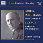 Cover Great Pianists - Gieseking