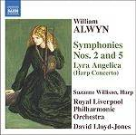 Cover Symphonies Nos. 2 and 5, Lyra Angelica (Harp Concerto)