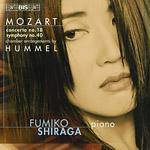 Cover Concerto no. 18, Symphony no. 40 (Chamber arrangements by Hummel)