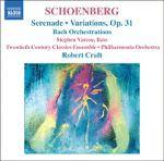 Cover Serenade . Variations, Op. 31 – Bach Orchestrations