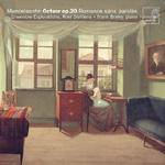 Cover Octuor op.20, Variations concertantes, Romance sans paroles, Albumblatt