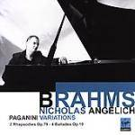 Cover Paganini Variations, 2 Rhapsodies Op. 79, 4 Ballades Op. 10