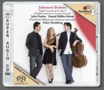Cover Violin Concerto in D, Op.77 – Double Concerto in A minor, Op.102