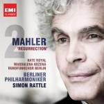 Cover Mahler 2: 'Ressurection'