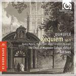 Cover Requiem op.9, Quatre Motets – Messe