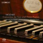 Cover Concertos for Two and Three Pianos