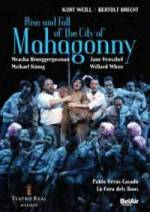 Cover Rise and Fall of the City of Mahagonny