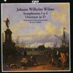 Cover Symphonies 1 & 4, Overture in D