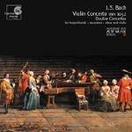 Cover Violin Concerto BWV 1052, Double Concertos for harpsichords, recorders, oboe and violin