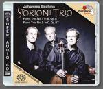 Cover Piano Trio No.1 in B, Op.8 – Piano Trio No.2 in C, Op.87