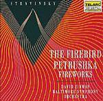 Cover The Firebird, Petrushka, Fireworks