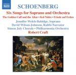 Cover 6 Orchestral Songs / Kol Nidre / Friede auf Erden (Schoenberg, Vol. 7)