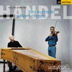 Cover Violin Sonatas: Hiro Kurosaki & William Christie