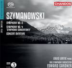 Cover Symphonies Nos. 2 & 4, Concert Overture